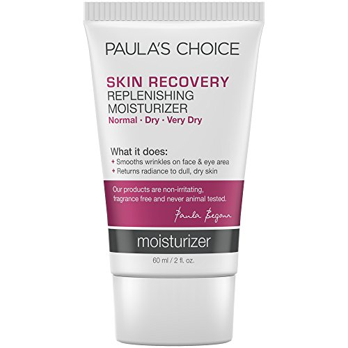 Daily Replenishing Cream (Paula's Choice--SKIN RECOVERY Replenishing Moisturizer Cream for Redness--Facial Moisturizer--Soothes Rosacea, Wrinkles, and Uneven Skin Tone--1-2 oz Tube)