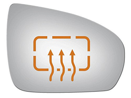 Burco 5358H Convex Passenger Side Power Replacement Mirror Glass Heated for 2009-2011 MERCEDES-BENZ CLS550, CLS63 AMG, E350, E550, E63 AMG, SL550, SL600, SL63 AMG, SL65 AMG, SLK300, SLK350, SLK55 AMG
