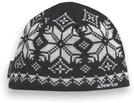 Seirus Innovation 3171 Crystal Hat Beanie for Ultimate Head and Ear Protection