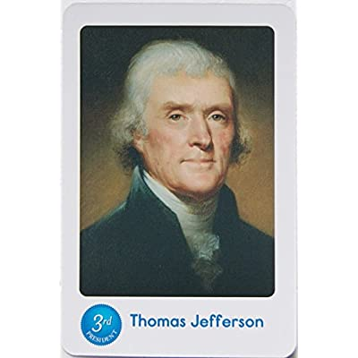 Learning Resources Flash Cards - US Presidents - 36 Cards: Toys & Games