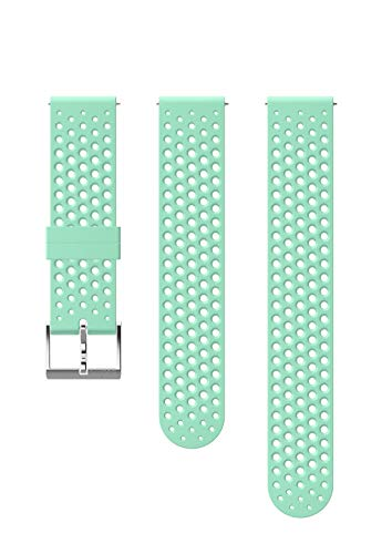 Suunto Watch Strap, 20mm, Silicone, Ocean Steel- Athletic, S+M: 120-230 mm (Suunto Neoprene Strap)