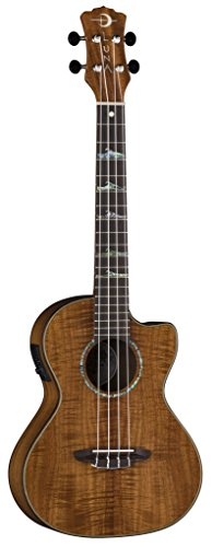 Luna UKE HTT KOA Tenor Ukulele with Built-in Preamp and FREE Gig Bag