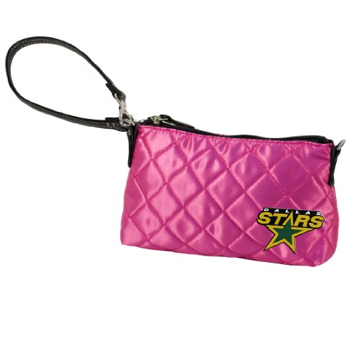 NHL Dallas Stars Quilted Wristlet