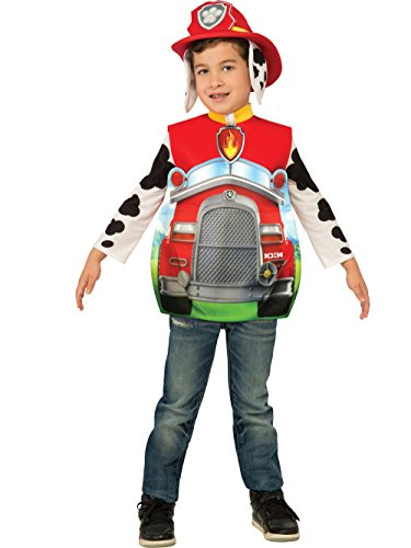 Rubie's Costume Paw Patrol 3D Marshall Child Costume, (Unique Halloween Costumes For Toddler Boy)