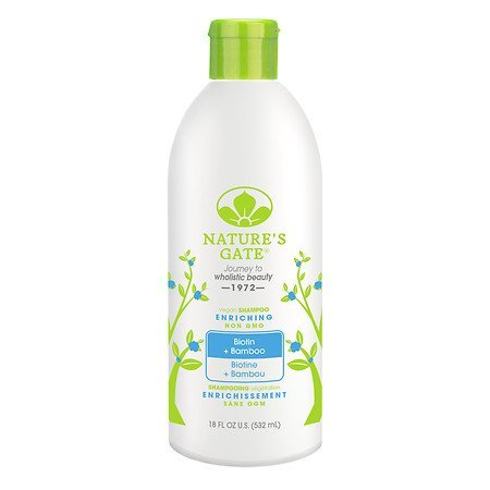 Shampoo-532 ml Brand: Natures Gate (Natures Gate Strengthening Shampoo)