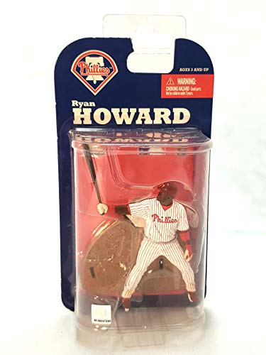 Philadelphia Phillies #6 Ryan Howard McFarlane 3in MLB Series McFarlane Figure 3 Mcfarlane Mlb Series