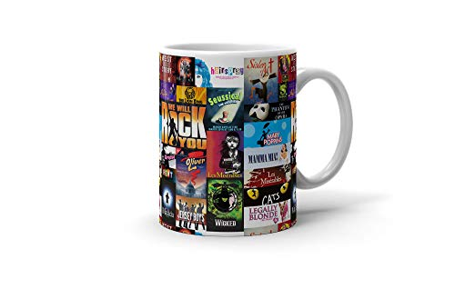 Musicals Movie Collage 11 Oz Coffee Mug