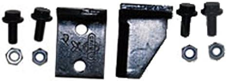 Juego de 2cuchillos de trituradora con Visserie Original para Cramer modelos Kompost y Meister 1800–L: 70mm, l: 40mm, diámetro: agujero: 8mm, distancia: 31mm). sustituye a origen: 9950569