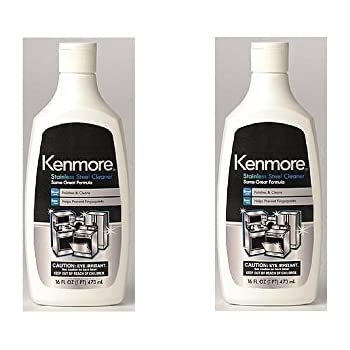 Amazon Com Kenmore 40083 Stainless Steel Cleaner Pack Of