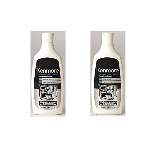 Cream Stainless Steel - Kenmore 40083 Stainless Steel Cleaner (Pack of 2)
