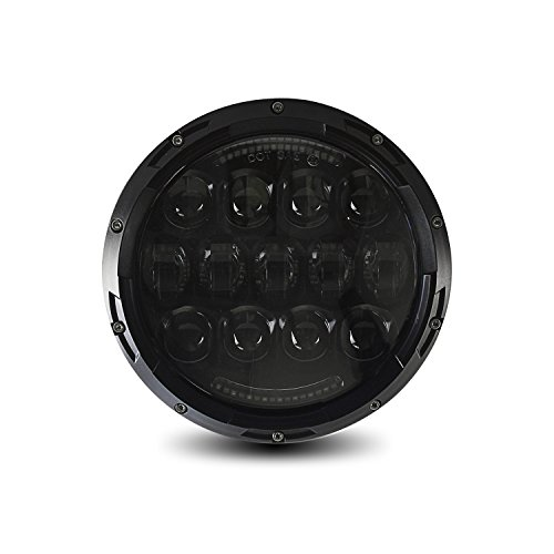 105W URBAN Osram LED Projection Headlight + DRL, Bright White 6000K, 4800 Lumen, IP67 Waterproof, Wide Dual Angle Hi/Lo Beam, Socket H4 / H13 Adapter included, - Led Cyron