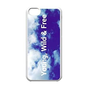 Young Wild and Free ZLB524664 Unique Design Phone Case for Iphone 5C, Iphone 5C Case