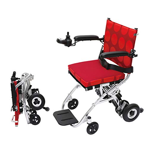 Amazon.com: MLX Silla de ruedas eléctrica, portátil plegable ...