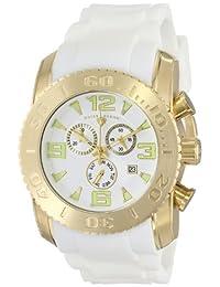 Swiss Legend Men's 10067-YG-02 Commander Analog Display Swiss Quartz White Watch