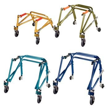 Nimbo Lightweight Posterior Safety Roller ( Youth, Cornflower Blue (Posterior Roller)