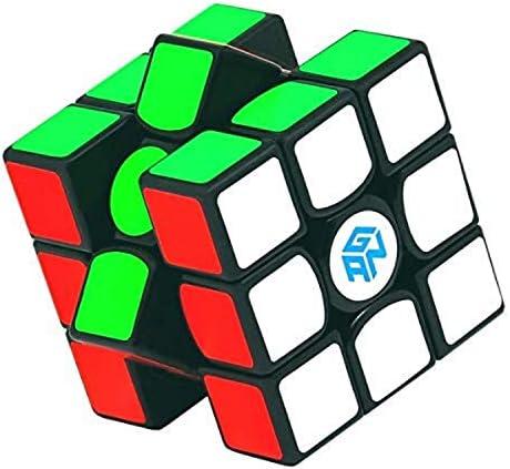 GAN 356 AIR MASTER 3x3 Speed Cube –Einstellbarer Speedcube – Profi Zauberwürfel mit Einstellwerkzeug und Tasche