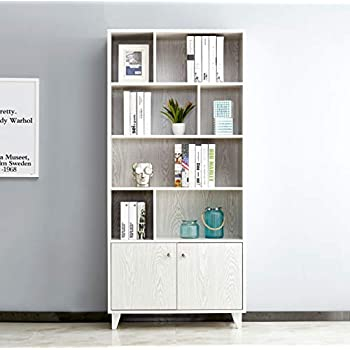 Amazon Com Homfa Floor Storage Cabinet Free Standing