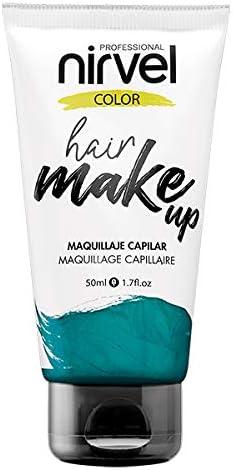 Nirvel Hair Make Up Maquillaje capilar 50 mL, color Aquamarine