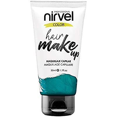 Nirvel Hair Make Up Maquillaje capilar 50 mL, color Aquamarine