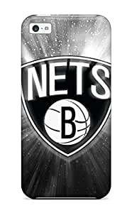 brooklyn nets nba basketball (27) NBA Sports & Colleges colorful iPhone 5c cases 2349485K364652194