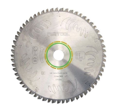(Festool 495388 Universal General Purpose Blade For The Kapex Miter Saw, 60 Tooth)