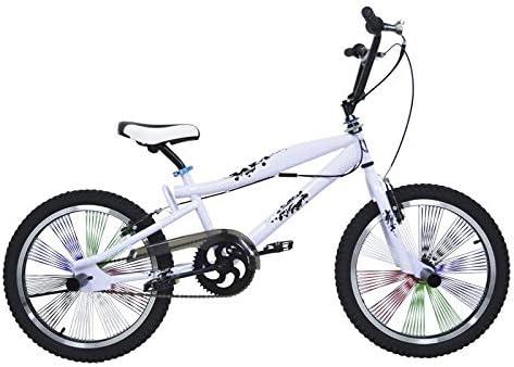 Riscko Bicicleta competición BMX Freestyle 360º Ruedas 20: Amazon.es: Deportes y aire libre
