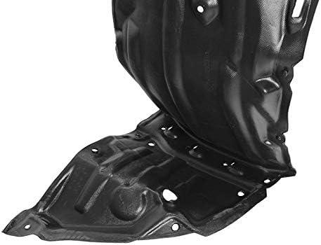Black Front Left Fender Liner For Toyota Prius 2016-2018 Inner Splash Shield