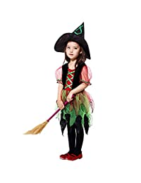 Veepola Kids Baby Girls Halloween Costume Cosplay Princess Witch Novelty Dress