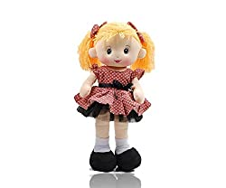 "Annie 14"" Rockabilly Rag Doll In Pink"