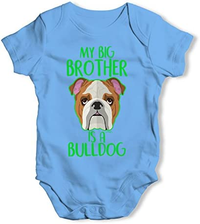 GRO //BODYSUIT GREAT GIFT /& NAMED FAWN FRENCH BULLDOG PERSONALISED BABY VEST