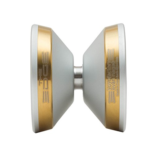 Edge Yoyo by YoYoFactory Color Silver with Gold (Golden Edge Rim)