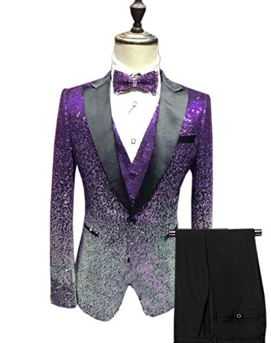 Costume Solovedress Costume Homme argenté Violet argenté Solovedress Solovedress Homme Violet xTBaq4U1w