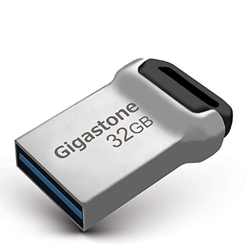 Gigastone 32GB USB3.1 Flash Drive, Durable Metal Waterproof Design Pen Drive, Reliable Performance & Durable (Factory Re-Marking Edition, New Un-Used)