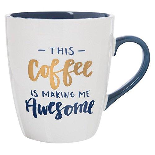 Jumbo Mug 27oz Porcelain This Coffee Is Making Me Awesome