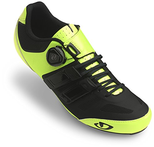 Giro Sentrie Techlace Cycling Shoes - Highlight Yellow/Black 45