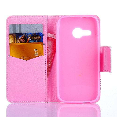 iPhone 4S/5S/5 C 6S 6S Plus/iPod Touch 5/6/S3/S3 MINI/S4/S4 mini/s5/s5 mini/S6/S6 Edge/S7, G360, G530 aukay Stand Flip Leather Case Mobile Phone Case Wallet with Card Mount Flip Wallet Leather Case Fl