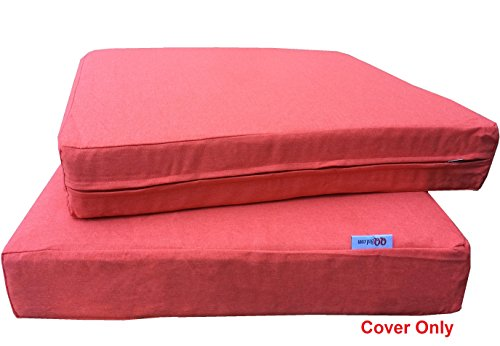 6 Pack Outdoor Patio Chair Washable Cushion Pillow Seat Covers 24