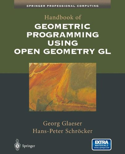 Handbook of Geometric Programming Using Open Geometry GL (Springer Professional Computing) by Springer