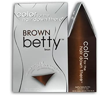 Brown Betty Colour for the Hair Down There Brown: Amazon.co.uk ...