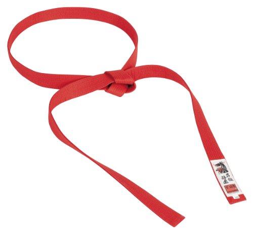 Ruff Nation Matsuru Rucanor - Cinturón de artes marciales, tamaño 260, color rojo