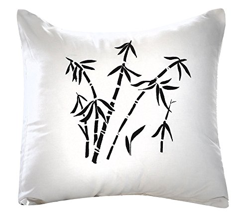 Black and White Decorative Pillow 16
