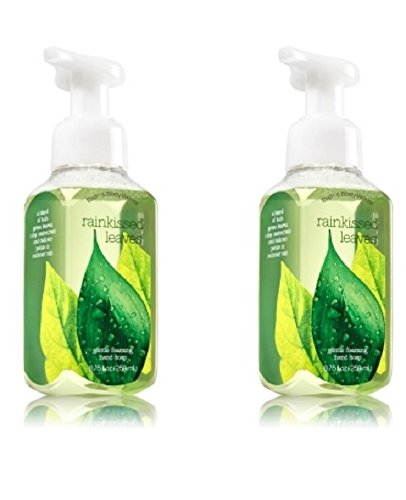 Bath & Body Works Gentle Foaming Hand Soap in Rainkissed Leaves (2 Pack)