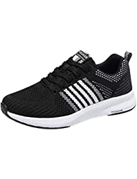 Sneakers Womens Lightweight Gym Running Sports Shoes Casual Breathable Shoes