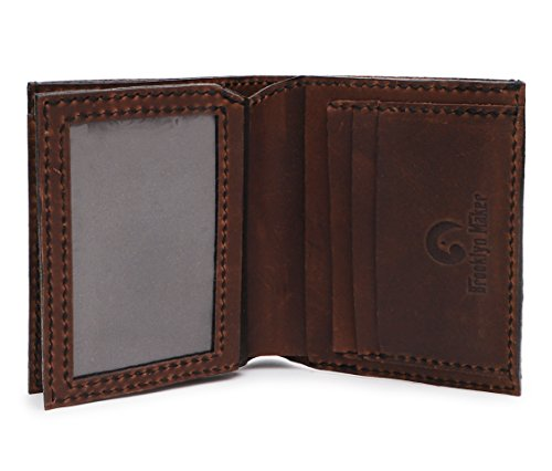 I 04 Men's MHLT Leather Genuine Symbol Natural Ganesh b Wallet Handmade Ohm qqF0vnO