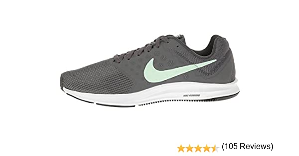 NIKE Womens Downshifter 7, Anthracite/Fresh Mint-Dark Grey-White ...