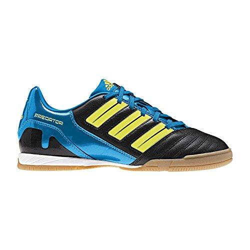 Adidas P Absolado IN, Größe 9, Farbe schwarz/blau/neongelb
