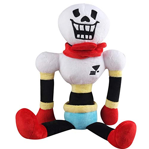 YOYOTOY 10Pcs/Lot 30Cm Undertale Papyrus Plush Stuffed Toys Doll Cute Papyrus Plush Toy for Kids Children Thing You Must Have Boy Gifts Girls Favourite Characters Superhero by YOYOTOY