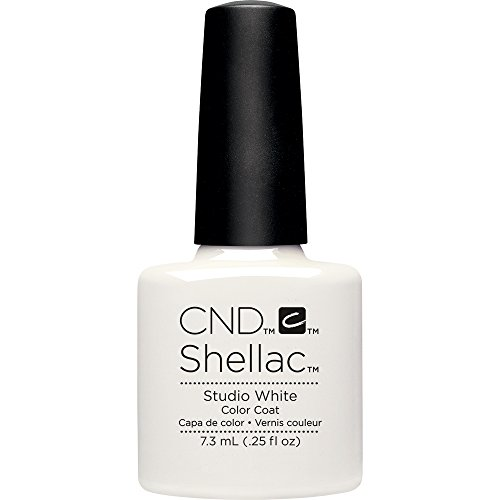 Studio Nail (Creative Nail Shellac, Studio White, 0.25 Fluid Ounce)