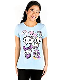 X Hello Kitty Women's Candy Clouds T-Shirt