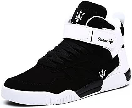 Leader Show (Tm) Men's Autumn & Winter Casual Fashion Sneakers High Top Breathable Athletic Ankle Sports Shoes #1106